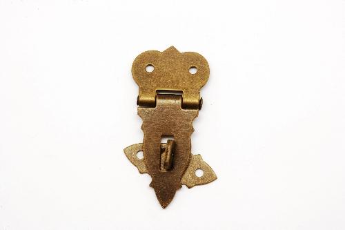 Cerrojo de pulgar de hierro forjado